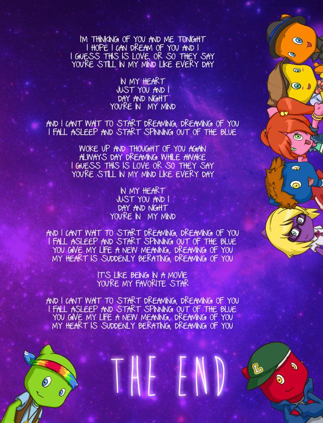 Lyric day n night lyrics : Dreaming of you | Geeh the Band
